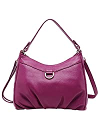SAIERLONG New Womens Cowhide Genuine Leather Handbags Shoulder Bags
