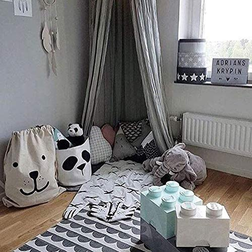 Basage Panda Aufbewahrungskorb Baby Kinder Spielzeug Kleidung Leinen W/äschekorb Aufbewahrungstasche kann Stand Windeleimer Home Storage Eimer