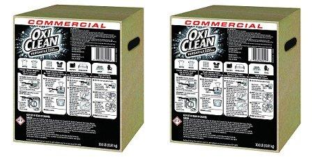 OxiClean 3320084012 Stain Remover, Regular Scent, 30 lb Box (2-(30 lb Box))