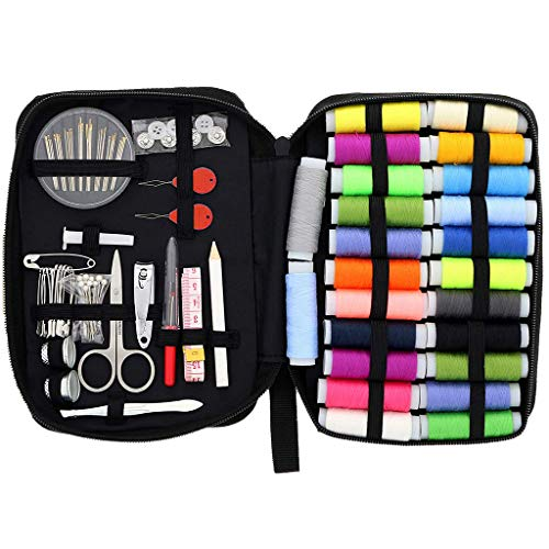 LiboboSewing KIT Repair Set Needles Portable Mini Mending Button Travel Sew Kits