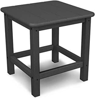 "product image for POLYWOOD SH18GY Seashell 18"" Side Table, Slate Grey"