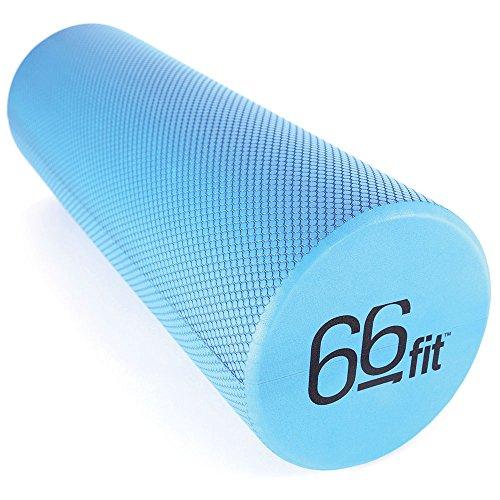 66fit EVA-Schaumstoffrolle - 15 cm x 45 cm - Physio, Pilates, Yoga, Triggerpunkt