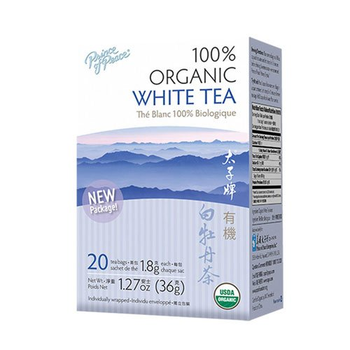 Prince of Peace Organic White Tea - 100 Tea Bags, 2 pack