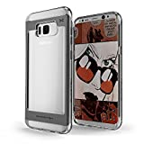 Galaxy S8 Plus Case, Ghostek Cloak 2 Series for Samsung Galaxy S8 Plus 2017 Slim Protective Hybrid Armor Shock Drop Protection Cover | Transparent | Screen Protector | Ultra Fit | TPU + Aluminum Frame (Black)