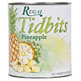 TableTop King Pineapple Tidbits in Natural Juice #10 Can