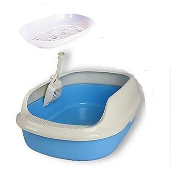 DAN Bandeja higiénica Cubierta para Gatos, Skyblue: Amazon.es: Deportes y aire libre