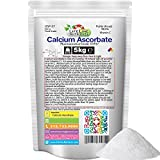 5kg (11lbs), 100% Pure Calcium Ascorbate - Free Shipping