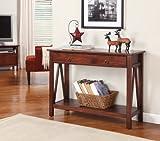 Linon Home Decor Titian Antique Console Table