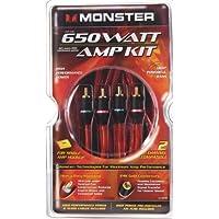 Monster BAIP-650 Standard  650 Watt Car Amp Kit