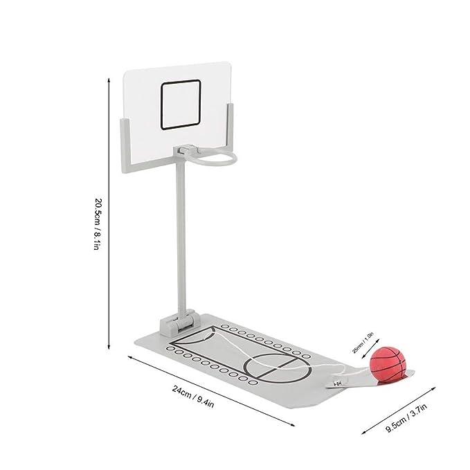 Hakeeta Mini Juego de Baloncesto de Escritorio Clásico Miniatura ...