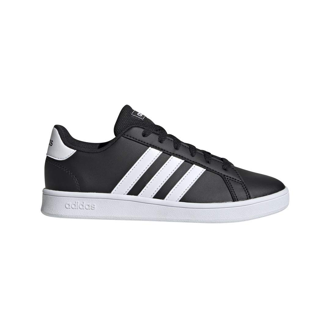 adidas Kids' Grand Court Wide Tennis Shoe