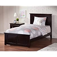 Madison Bed with Matching Foot Board, Twin XL, Espresso