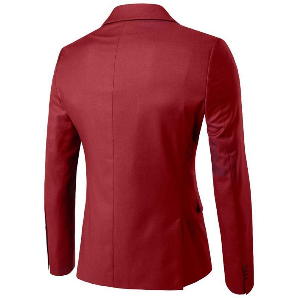 Rera Homme Costume 3 pièces Veste+Gilet+Pantalon Décontracté Formel Slim Fit  d  Agrandir l image 2e804d7108d