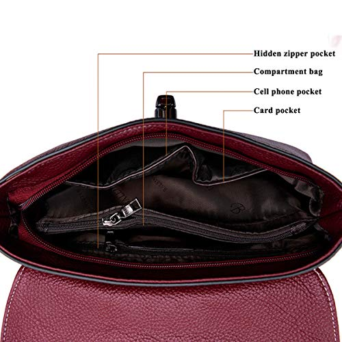 Trabajo Bandolera exull Bolsa Bolsas Red Viaje Bag Messenger 6251 Pu Mujer Bolsos Para Ect Baratos Moda Vida Cuero Bolso De Mano Perfecto Sport Diario Fc4wq5WWH