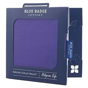 Blue Badge Company PUR-PRDR-0163 - Funda para tarjetas de aparcamiento para discapacitados, color violeta