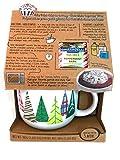 Christmas Mug Cake Gift Set, Large Christmas Mug with Chocolate Cake Mix