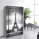 IDS Online 16716-ET Eiffel Tower Portable Wardrobes Organizer