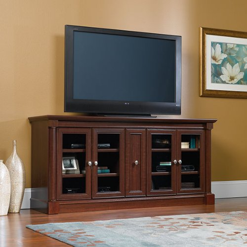 Cherry Entertainment Credenza (Sauder Palladia Credenza in Cherry)