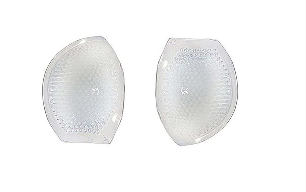 1Pair Silicone Breast Enhancers- Thickening Perforated Bra Insert Pad Swimwear Push-up Booster Pads(Transparent) Elandy