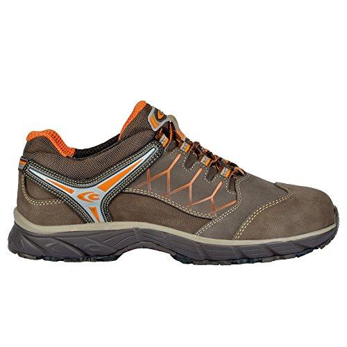 Cofra JV016-000.W43 New Red Eye S3 SRC Chaussures de sécurité Taille 43 Marron
