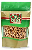 Dry Roasted Cashews Unsalted (5 Pound Bag) - Oh! Nuts