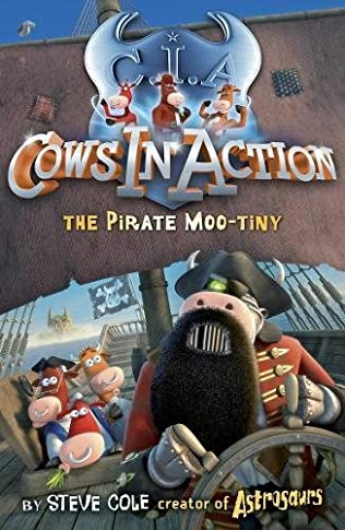 book cover of The Pirate Moo-tiny