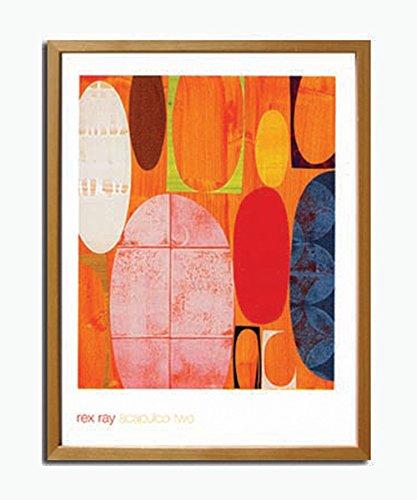 JIG アートポスター モダン スタイル アート レックスレイ Acapulco Two IRR-10078 B00P7BPX86
