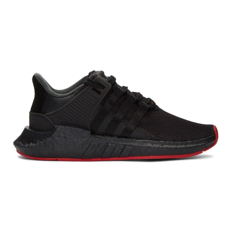 (アディダス) adidas Originals メンズ シューズ靴 スニーカー Black EQT Support 93/17 Sneakers [並行輸入品] B07D176KMZ