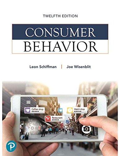 The 7 best consumer behavior international edition