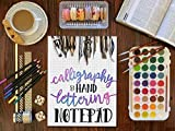 Calligraphy & Hand Lettering Notepad: Beginner