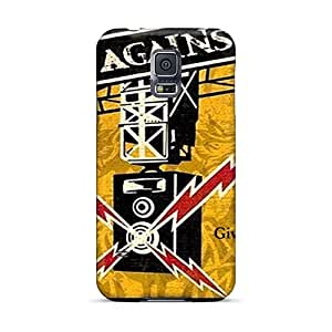 KerryParsons Samsung Galaxy S5 High Quality Hard Cell-phone Cases Allow Personal Design Realistic Red Hot Chili Peppers Skin [scD12028Hfua]