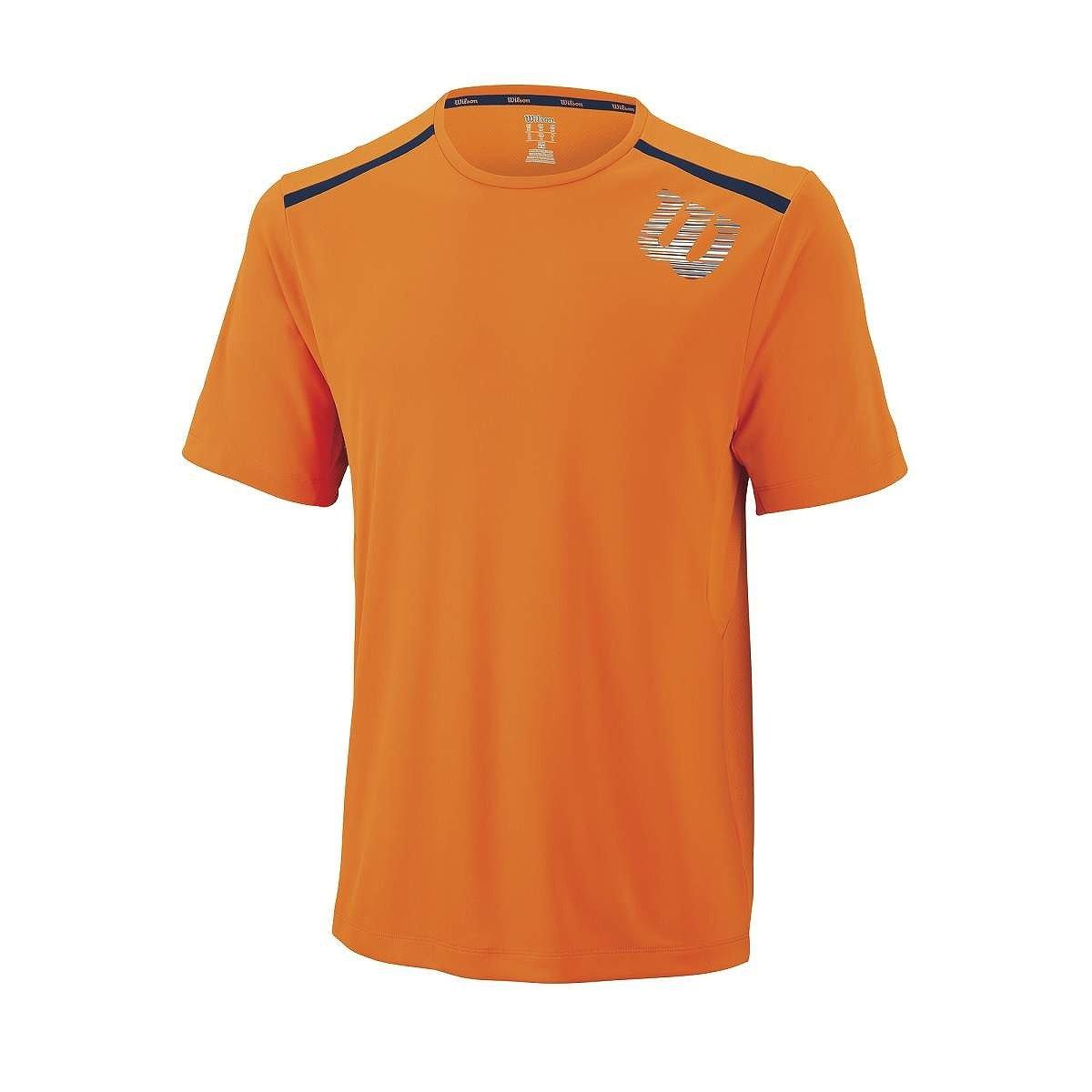 Wilson M SP Linear Blur Print Crew Clem - Camiseta para Hombre  Amazon.es   Deportes y aire libre 67c5839a7180