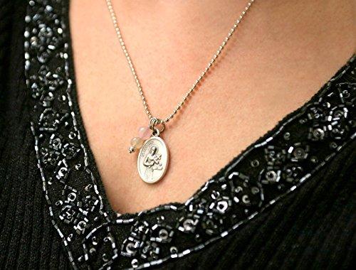 St Gerard Necklace (Fertility Necklace, St Gerard Pendant)