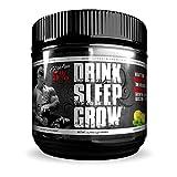 Rich Piana 5% Nutrition Drink Sleep Grow Nighttime Aminos (Lemon Lime) 30 Servings 15.87oz (450g)