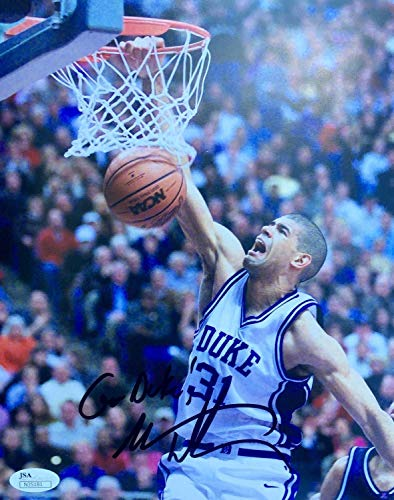 Shane Battier Duke Blue Devils Autographed Signed Memorabilia 8x10 Photo JSA