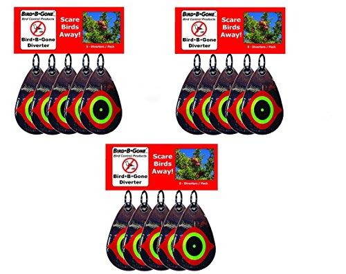 Pack of 3 - Bird Scare Diverters - Visual Bird Deterrent