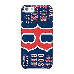 Apple Iphone 5c NvQ18128pDsi Unique Design HD Boston Red Sox Pictures Scratch Resistant Hard Phone Case -JohnPrimeauMaurice