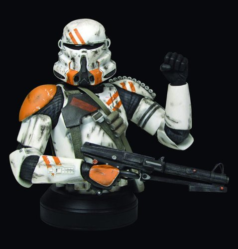 (Star Wars Airborn Trooper Collectible Mini Bust from Gentle Giant Studios )