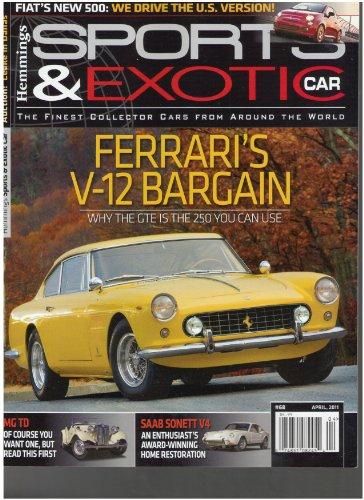 Hemming's Sports & Exotic Car Magazine (Ferrari's V-12 Bargain, April 2011)