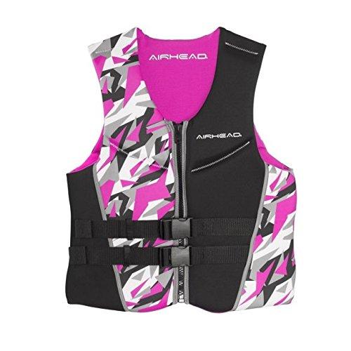 AIRHEAD CAMO COOL Womens Kwik-Dry Neolite Flex Vest, Pink