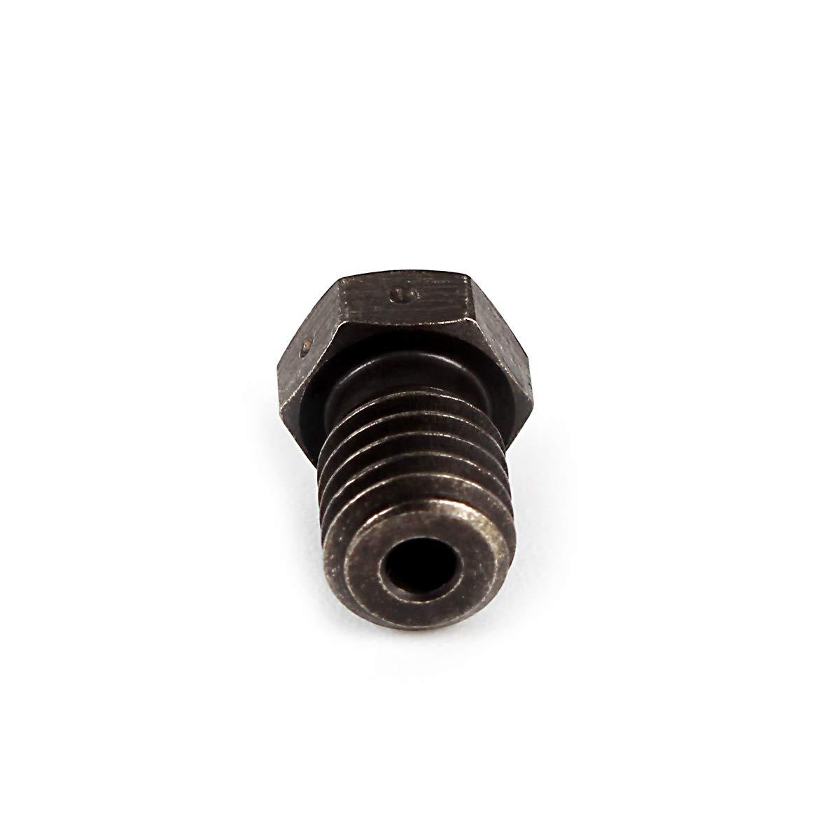 Lite6 Tita Aero HotEnds Prusa 3D-Druckerteile. BCZAMD 2-teilige V6-D/üsen aus geh/ärtetem Stahl 0,3 mm f/ür Hochtemperatur-Kohlefaser im Dunkeln leuchtende PLA-gef/üllte Filamente f/ür V6