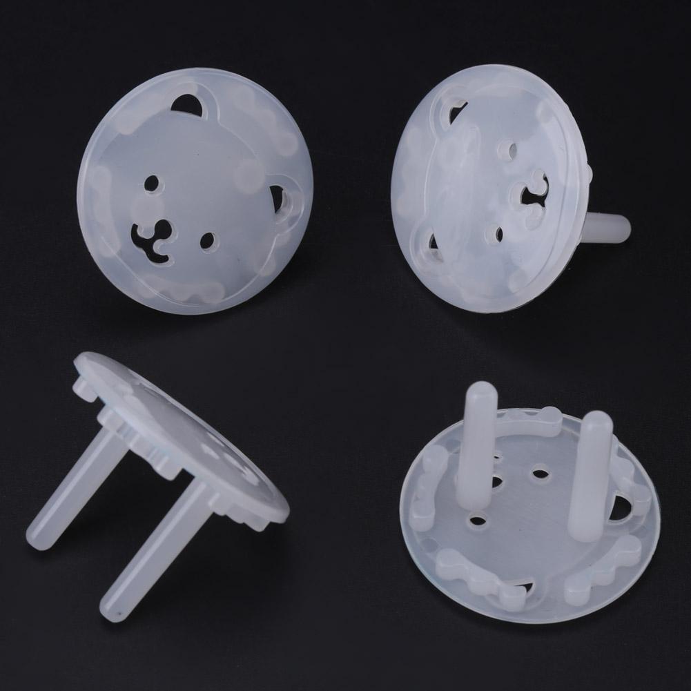 Zerodis 20 PCS//Set Outlet EU Plug Couvre /Épais Forme dOurs Prise Murale Socket Enfants S/écurit/é Gardes Enfant /Électrique Protecteur Anti Choc B/éb/é Garde de S/écurit/é