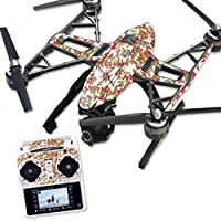 MightySkins Protective Vinyl Skin Decal for Yuneec Q500 & Q500+ Quadcopter Drone wrap cover sticker skins Leaf Jungle