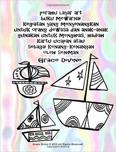 Buy Perahu Layar Art Buku Mewarnai Kegiatan Yang Menyenangkan Untuk