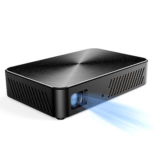 YPSMJLL Mini Proyector Portátil con Wi-Fi - Batería Incorporada De ...
