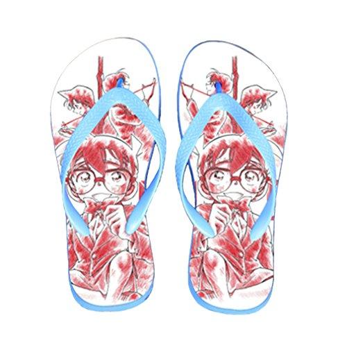Bromeo Detective Conan Anime Unisex Flip Flops Chanclas 655