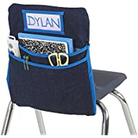 ECR4Kids Classroom Chair Organizer Seat Companion