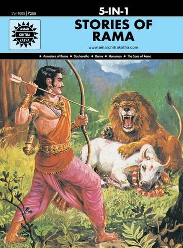 Stories of Rama 5 in 1: (Amar Chitra Katha 5 in 1 Series)
