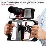 ULANZI U Rig Pro Smartphone Video Rig, Filmmaking Case, Phone Video Stabilizer Grip Tripod Mount for Videomaker Film-Maker Video-grapher for iPhone Xs XS Max XR iPhone X 8 Plus Samsung 2