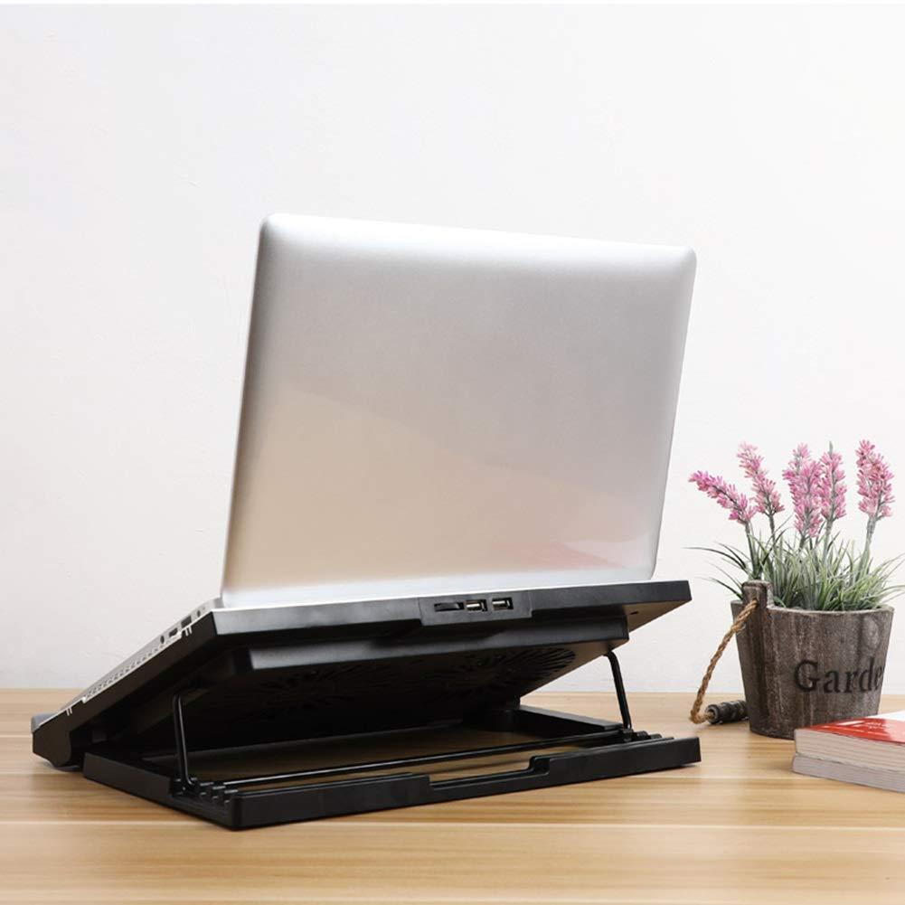 PANGU-ZC Laptop Cooler - Foldable Portable Dual USB Powered Dual Fan Design, Height Adjustable for 15.6'' by PANGU-ZC (Image #4)